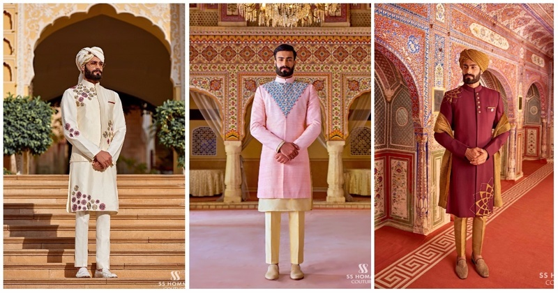 SS HOMME - This Menswear Brand Has The Coolest Groomswear For Your Desi Wedding! #WeddingWear