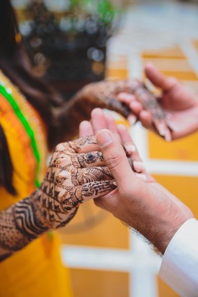 Mehendi ceremony love..