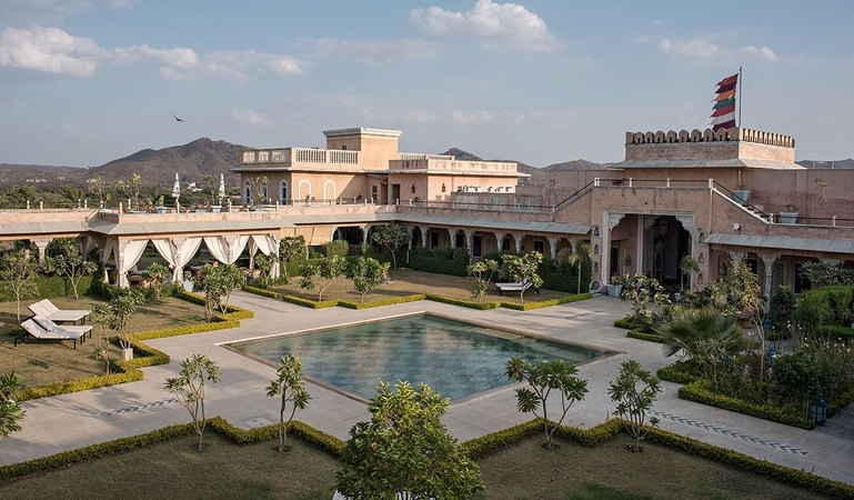 Bujera Fort - A Boutique House Bujra Udaipur - Wedding Lawn