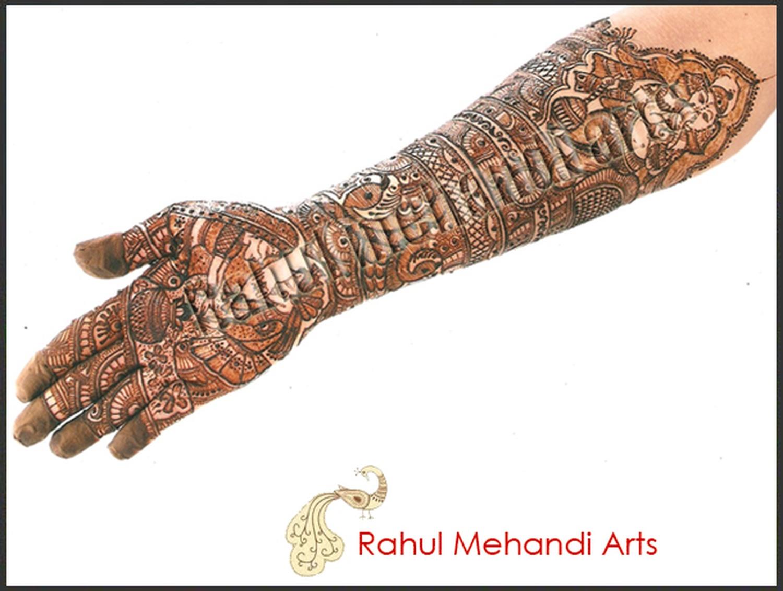 Mehndi Hand Name : Rahul mehndi arts bridal artist in mumbai weddingz