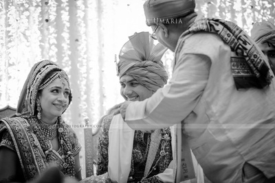 Candid wedding photography captured by Lightarts photography