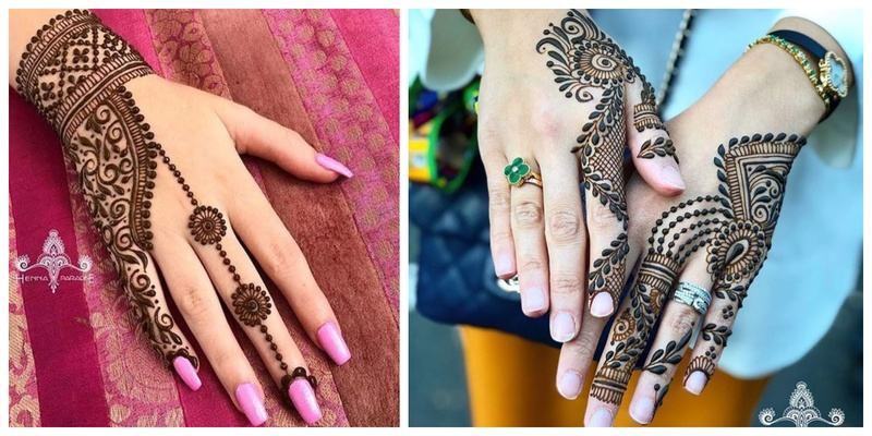 50+ simple mehndi design ideas to save for weddings and other occasions!