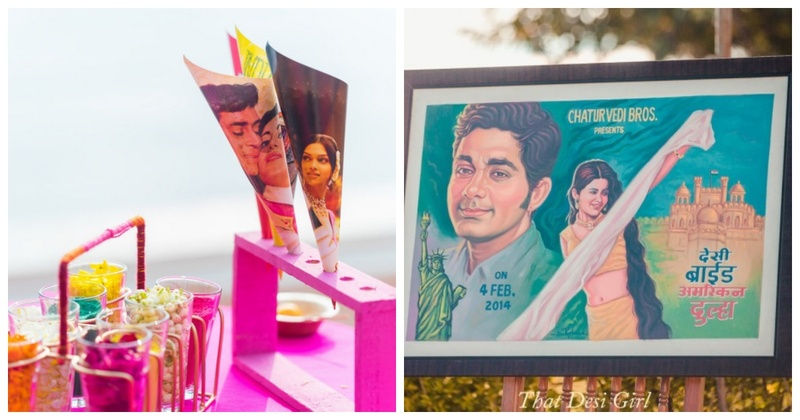 10 Ways in Which You Can Include Bollywood in Your Wedding!
