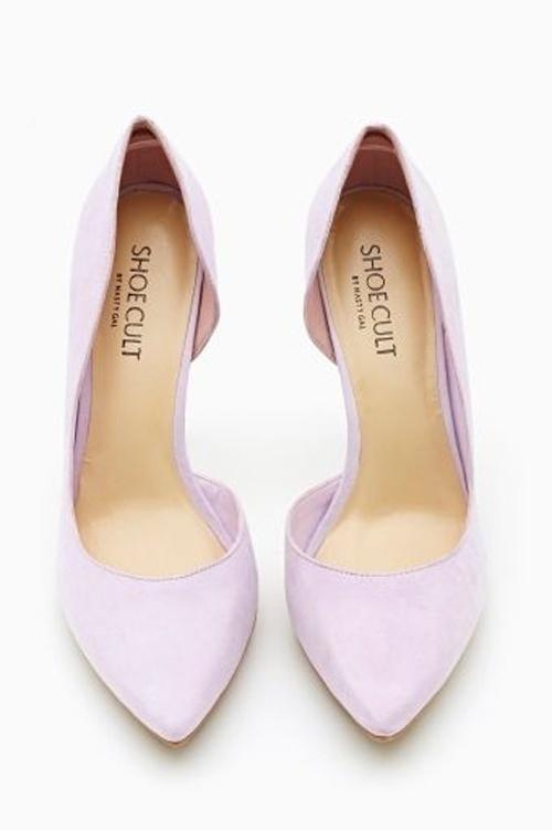 Lavender Wedding Shoes