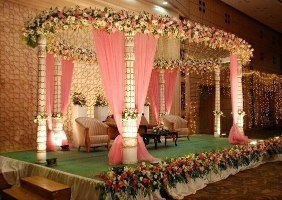 40 Best Wedding Reception Stage Decoration Ideas For 2018 Wedding Decor Wedding Blog
