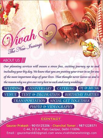 Vivah The New Innings | Delhi | Wedding Planners