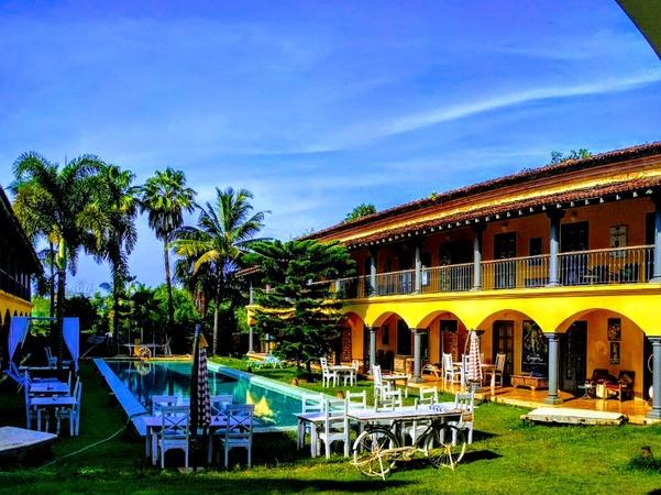 Sur La Mer Morjim Goa - Banquet Hall