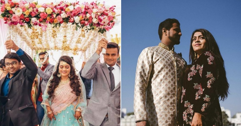 Famous Fashion Blogger Gia Kashyap tied the knot in a fairy-tale ceremony at Udaipur!