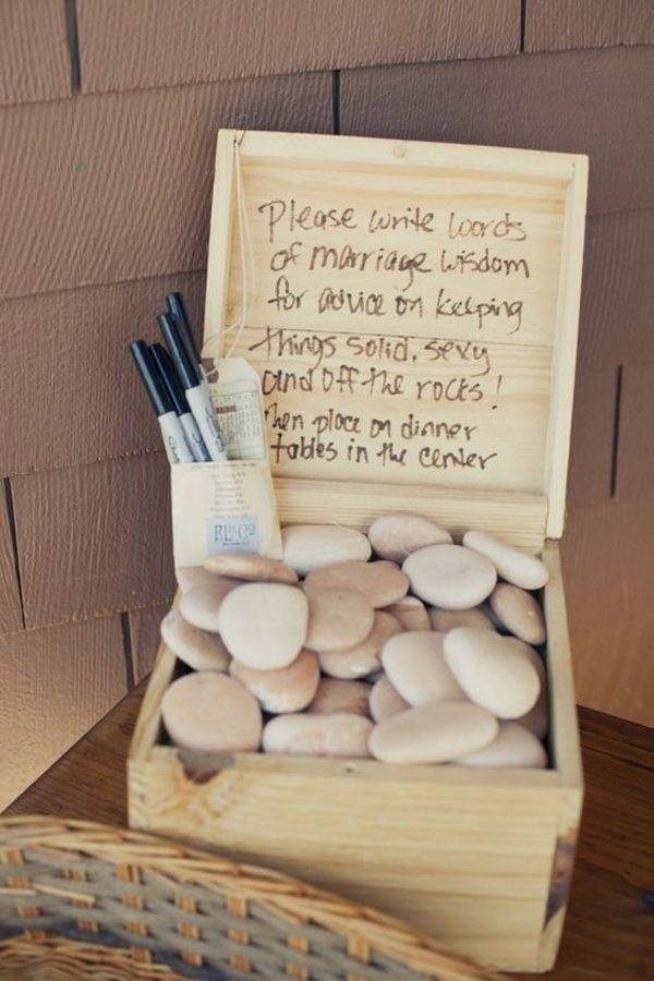 Eco-Friendly Wedding Guestbook