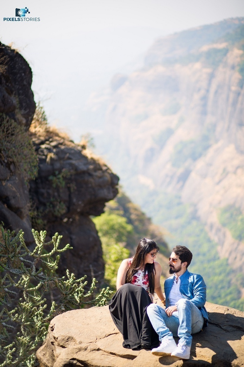Pre-Wedding Shoot Held In Pune With A Biker Theme - Blog