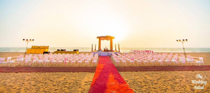 Divya & Smriti Goa : Quirky decor, ear-to-ear smiles and plenty of colours makes this wedding an awe-inspiring one!