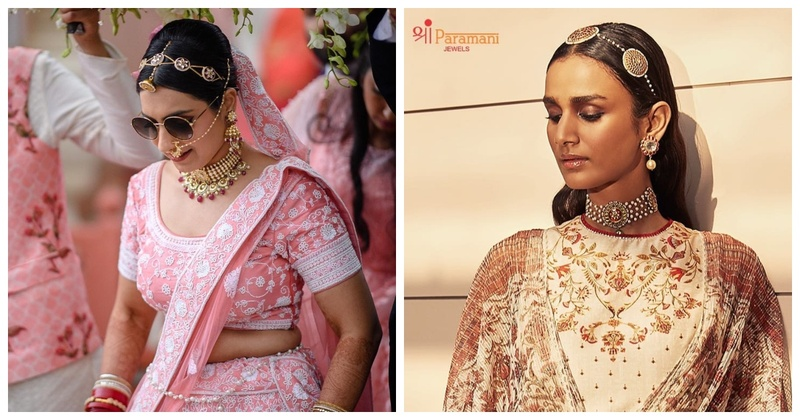 Trend Alert- Jewelled Bridal Headbands for a Chic Look