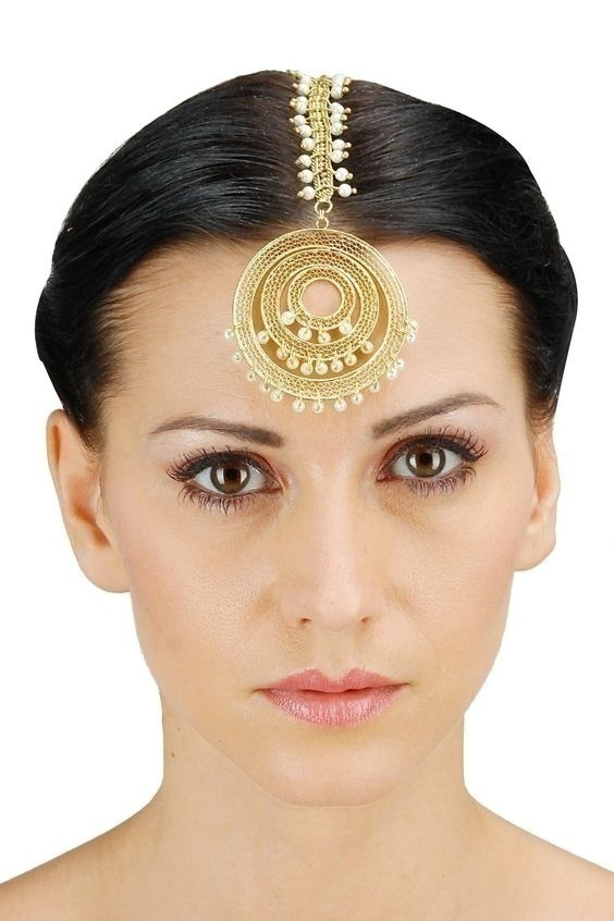 Bridal Pearl Hair Jewellery – Gorgeous Maang Tikka, Matha Patti and the Works
