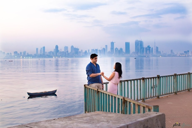 Pre-Wedding Shoot Held In South Bombay With A Serene, Calm Touch And Lots Of Love! #MumbaiDiaries