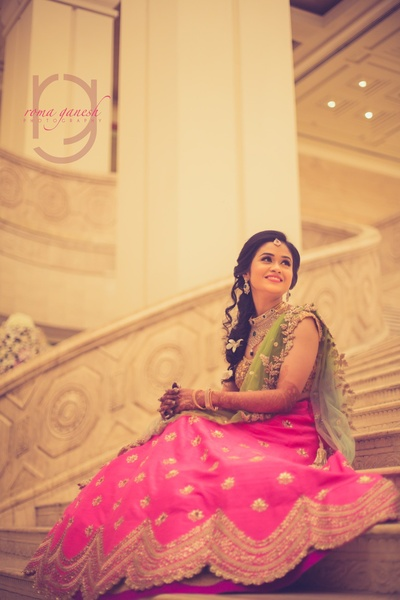 candid bridal photography for the engagement ceremony