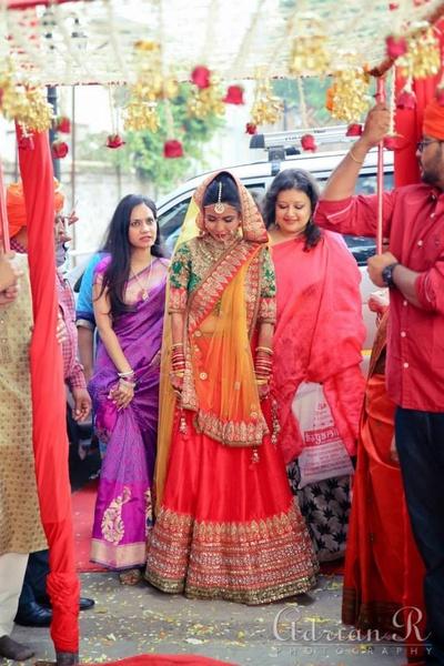 Wedding dress ideas for indian bride