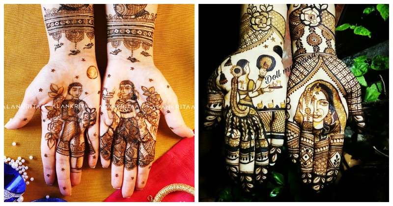7 Beautiful Mehendi Designs for Karva Chauth