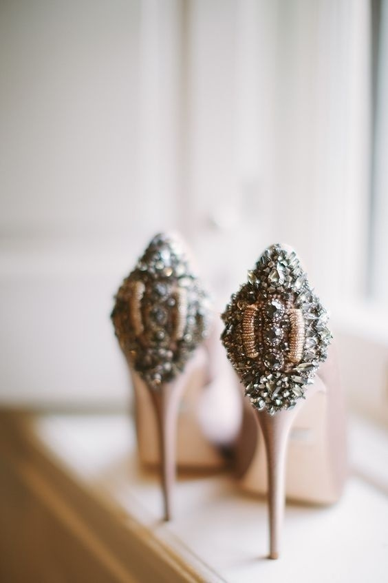 The Bling and Bridal of Wedding footwear - Trendspotting!