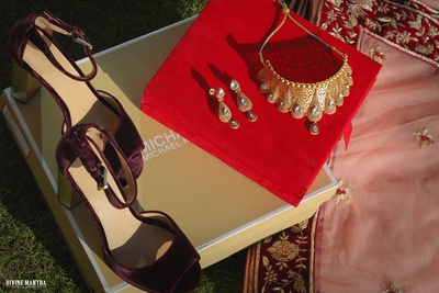 The bride's trousseau is all set and ready for the wedding!
