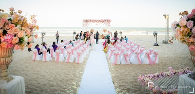 The gorgeous venue is all set for the couple!