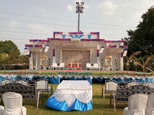 Shreeji Baug Party Plot Randheja Gandhinagar - Wedding Lawn