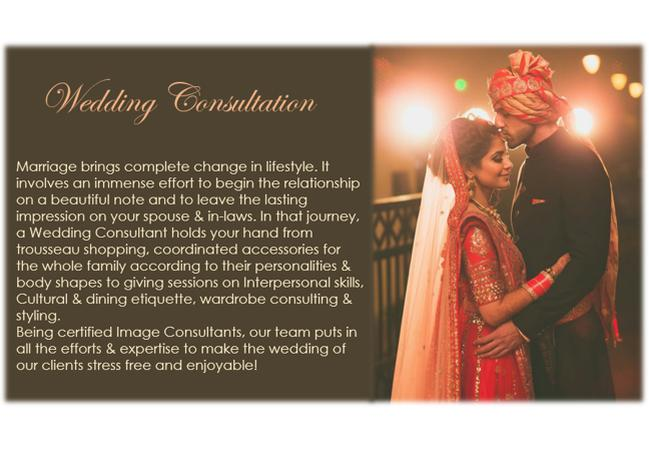 Enigma Image Consultants (Wedding Consulting Services) | Delhi | Experiences