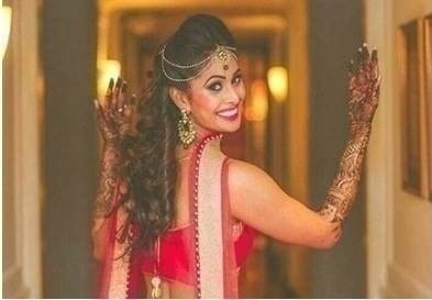 4.Professional make up is done for all wedding functions like mehndi/haldi as opposed to just the wedding day.