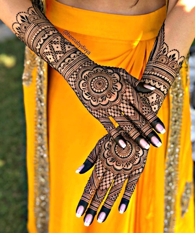 Full Hand Mehndi Design From Classy To Sassy We Ve Got You All Bridal Look Wedding Blog
