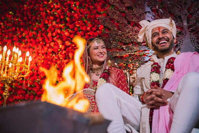 Sarthak  & Florianne  Delhi : When love knew no boundaries!