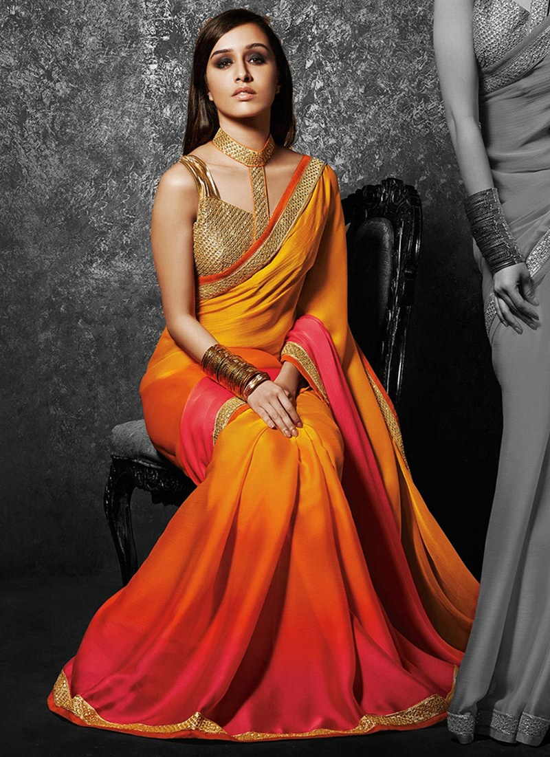 Bridal Cocktail Party Sarees for a Stylish Evening