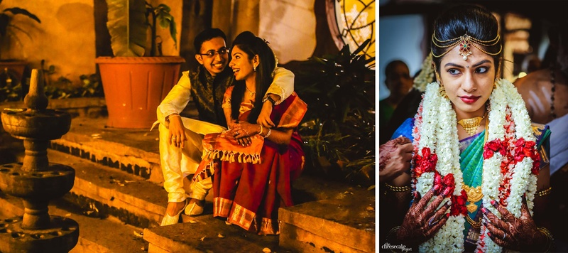 Arun & Sneha Bangalore : Cute South Indian Wedding in Bangalore with the most creative decor