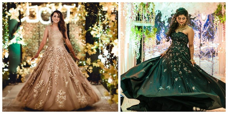 10 Sangeet Gowns that Instantly Grabbed our Attention!