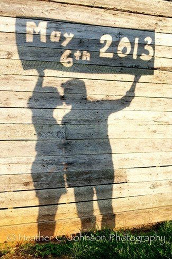 My Love Is My Shadow – Depicted Literally!