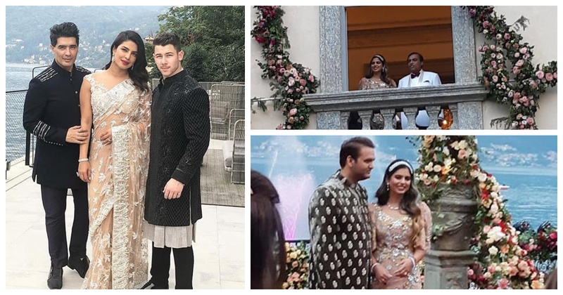 All the insider pics & deets from Isha Ambani and Anand Piramal's dreamy engagement at Lake Como!