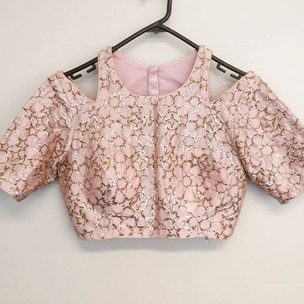 Blouse Designs Contemporized Styles And Patterns For Modern Brides