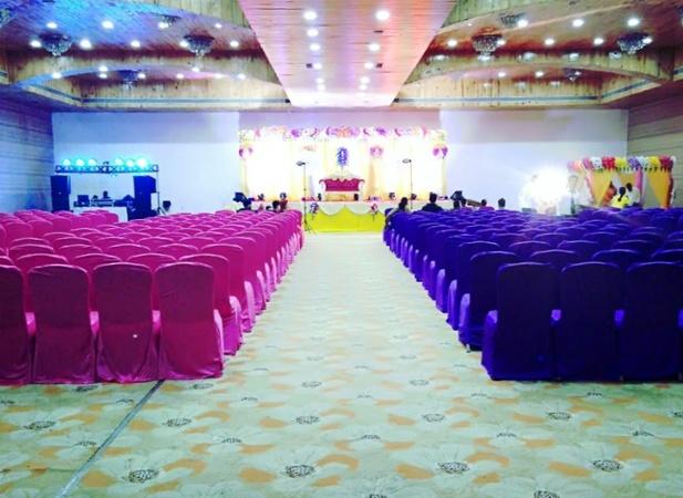 Hotel Patliputra Nirvana Rajendra Nagar Patna - Banquet Hall