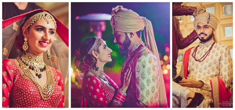 Ankit & Anvita Udaipur : This pretty bride in red lehenga got married in the most gorgeous destination wedding in Udaipur!
