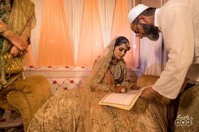 Ain during the Kashmiri Wedding ceremony.
