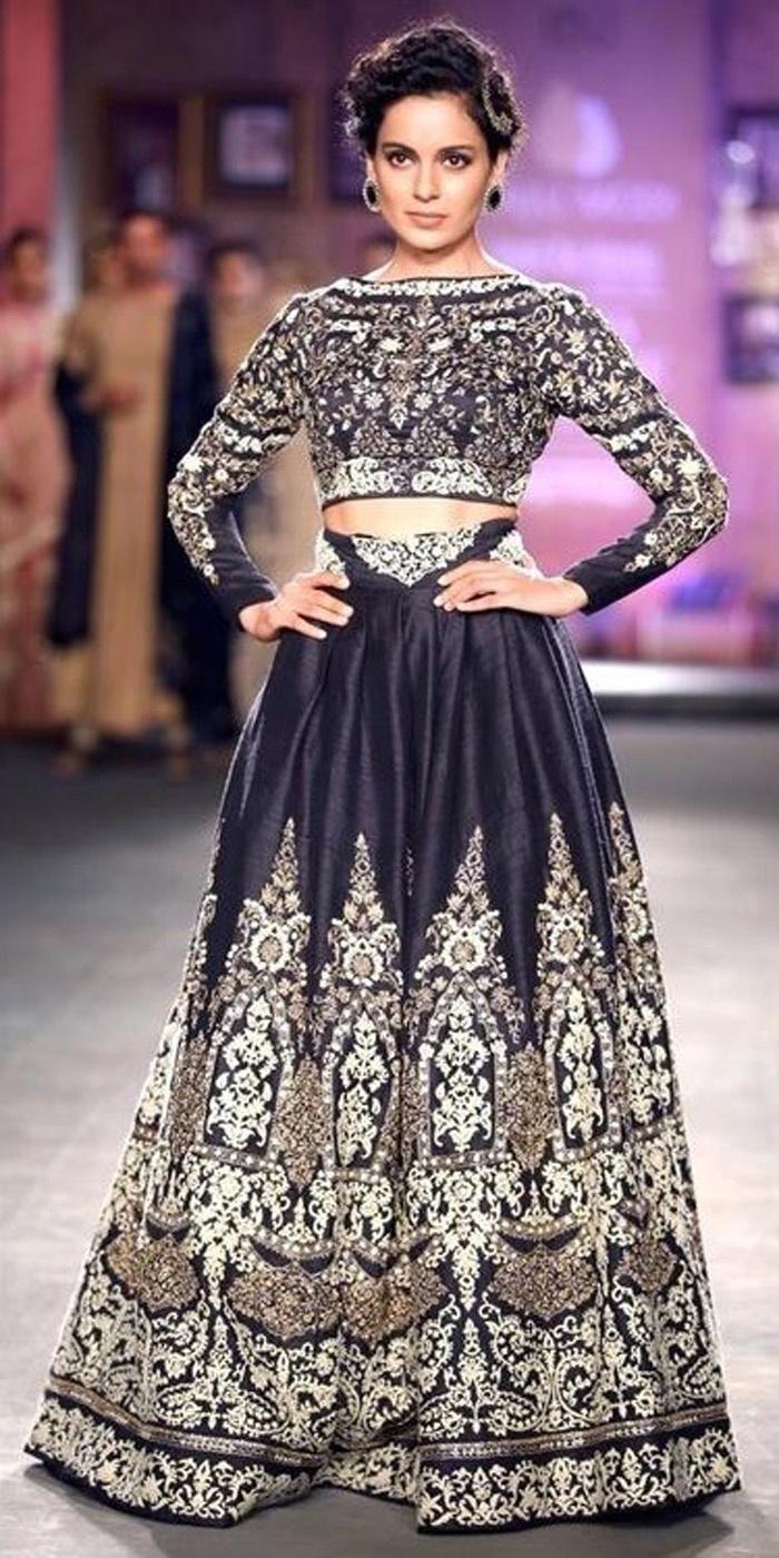 Celebrity Inspiration : Kangana Ranaut's Timeless Bridal Style