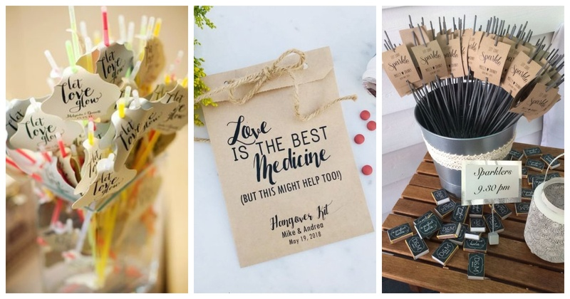 7 Sangeet and Cocktail Favours for Adding the Extra Fun!