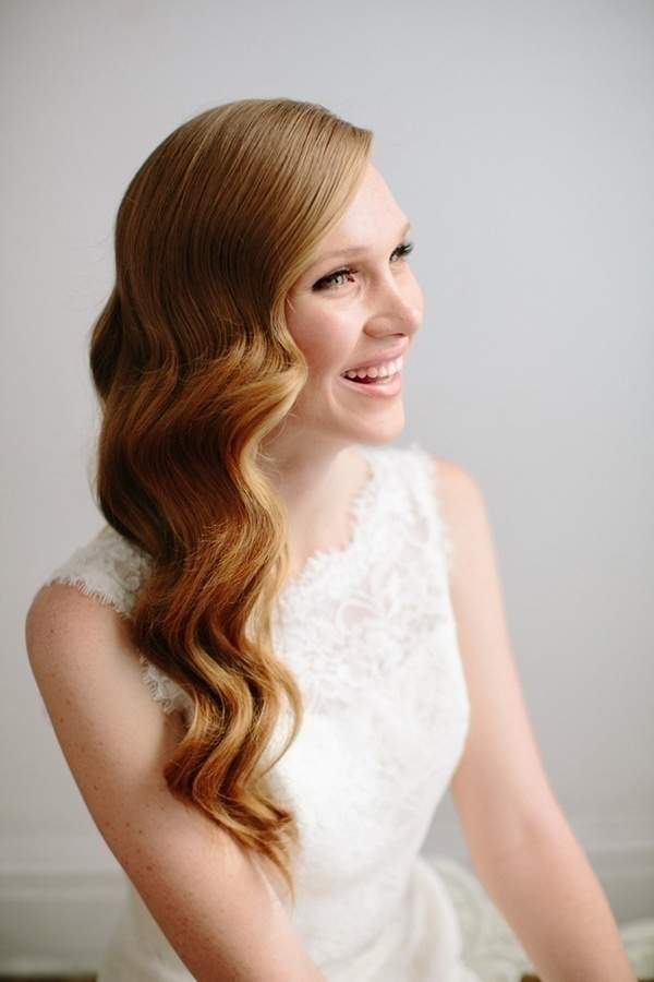 Simple diy hairstyles for your pre wedding functions that you could hollywoodstructured waves section your hair curl clip and spray voila thats all you need to do to achieve this chic vintage look solutioingenieria Image collections