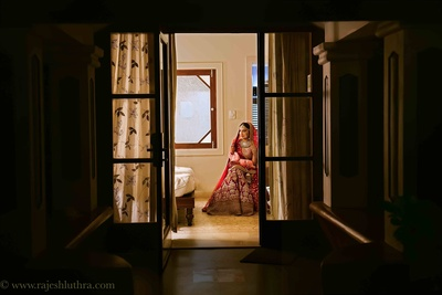 Bridal portraits shot amazingly by the talented team at Rajesh Luthra