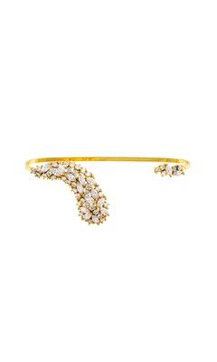 Asymmetrical Gold Bracelet