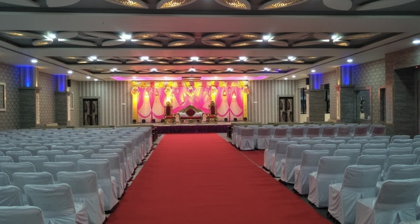 Omkar Celebrations Hall and Lawn Dighori Nagpur - Banquet Hall