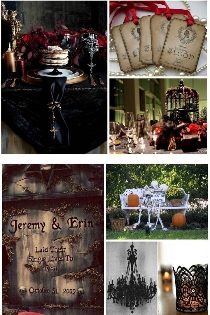 Halloween Special How To Plan The Most Perfect Gothic Wedding Ever