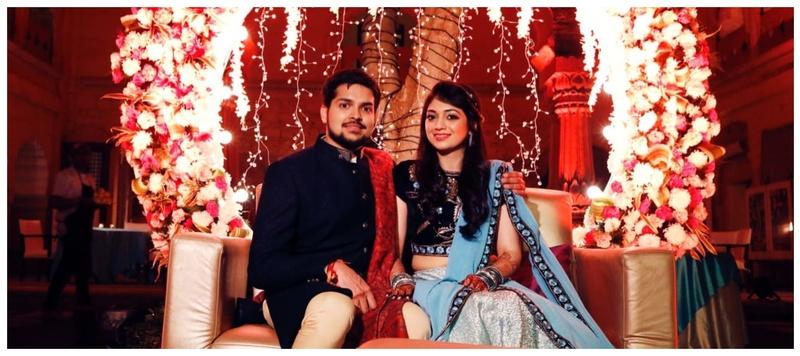Anuj & Pooja Alwar : A dreamy destination wedding held at the luxurious Tijara Fort!