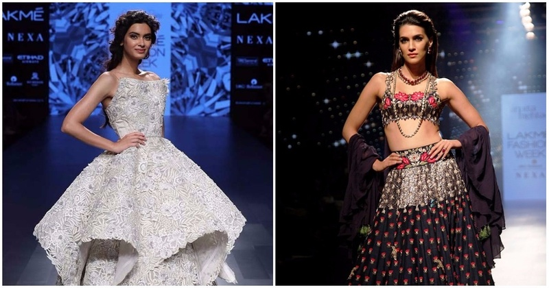 This Season\'s Hottest Bridal Lehengas And Gowns - Lakme Fashion Week ...