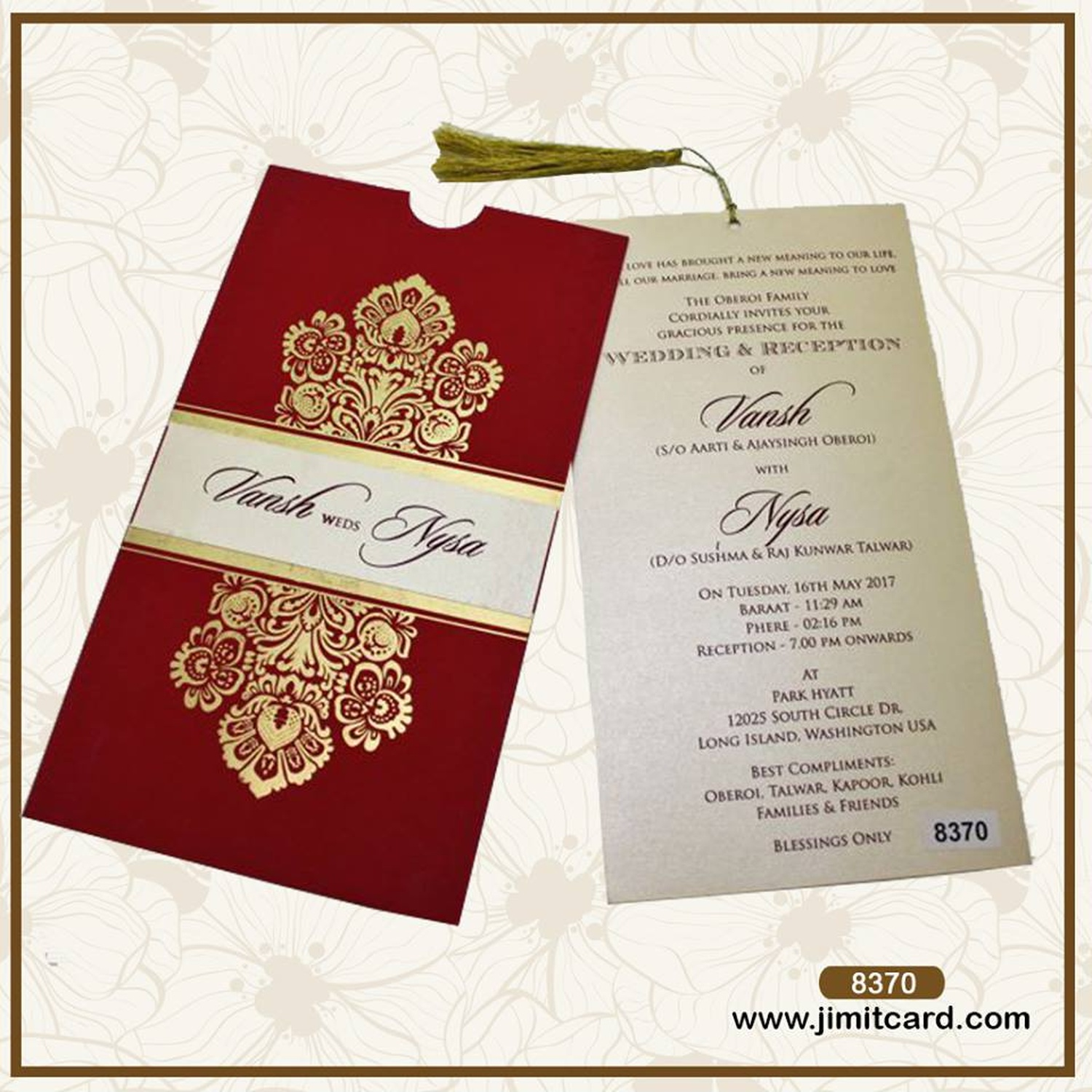 Jimit Card, Wedding Invitation Card in Dadar West, Mumbai | WeddingZ