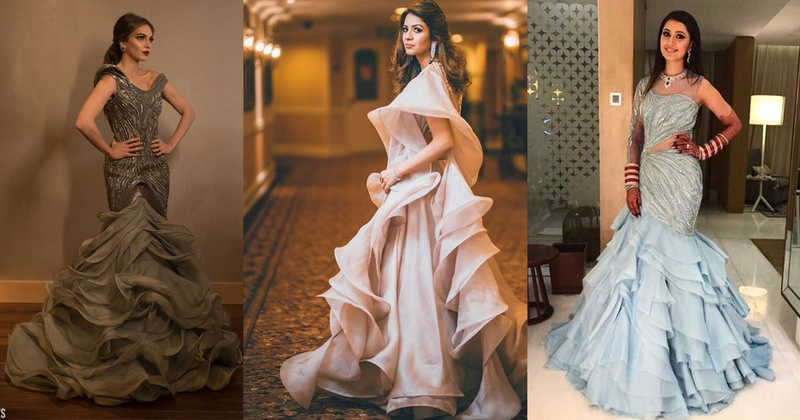 The Best of Gaurav Gupta Couture on 2017 Real Brides- #Weddingz2017Rewind!