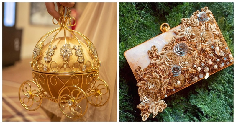 12 offbeat and trendy clutches every bride would go crazy over!